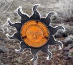 gefrorene Sonne