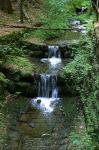 Dorfbach zum Lichtenhainer Wasserfall