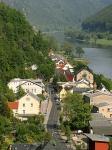 Bad Schandau vom Ostrauer Aufzug aus gesehen